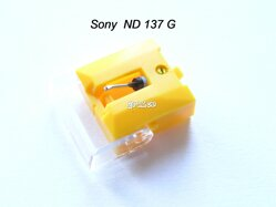 Gramo hrot ND 137 G  Sony